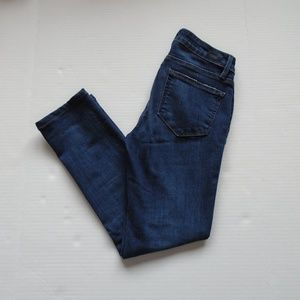Paige Womens Skyline Skinny Jeans Size 27 Med Wash